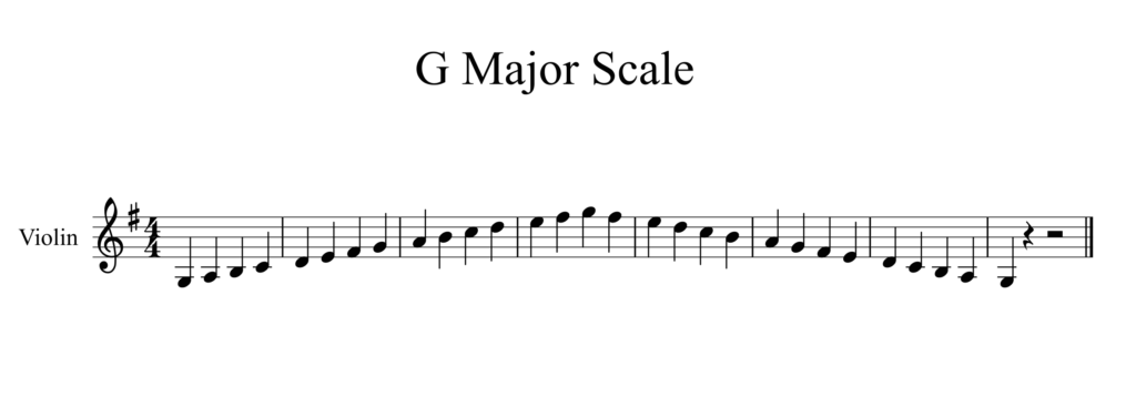 G Major Scale-1