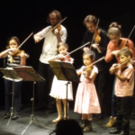 Young Violinists Children Cocnert