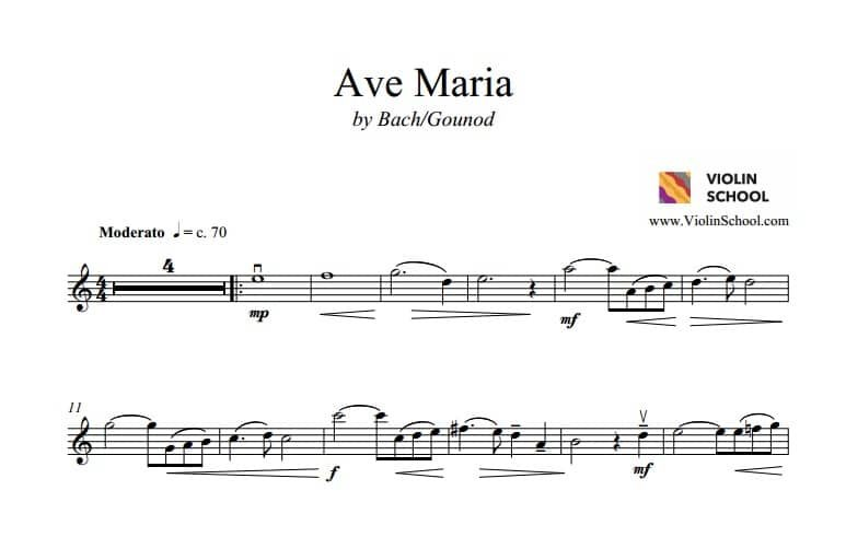 Ave Maria by Bach and Gounod