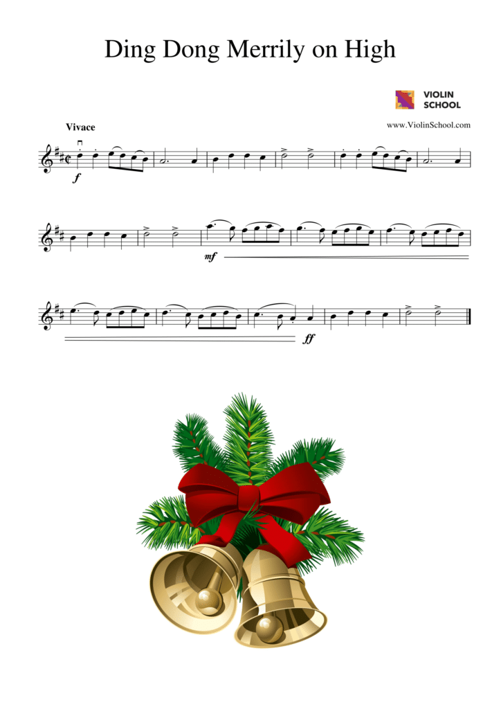 We Wish You A Merry Christmas And A Happy New Year! - ViolinSchool.com