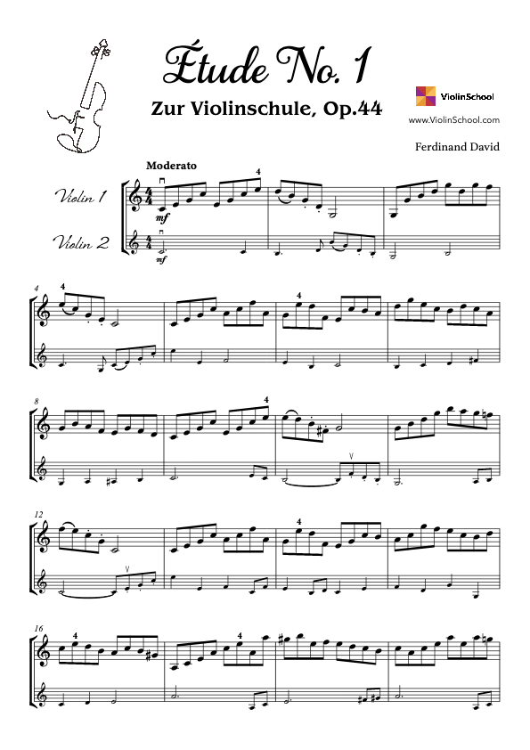 https://www.violinschool.com/wp-content/uploads/2021/03/Étude-No.1-Op.44-Ferdinand-David-Two-Violins-Score-1.0.0-ViolinSchool.pdf